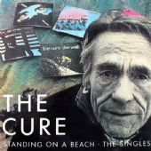 The Cure - 'Standing on a Beach' Square Sticker